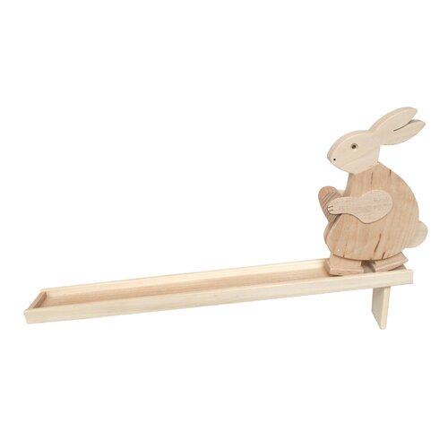 DwellStudio Rabbit Walker Toy