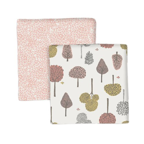 DwellStudio Treetops Swaddle Blanket (Set of 2)