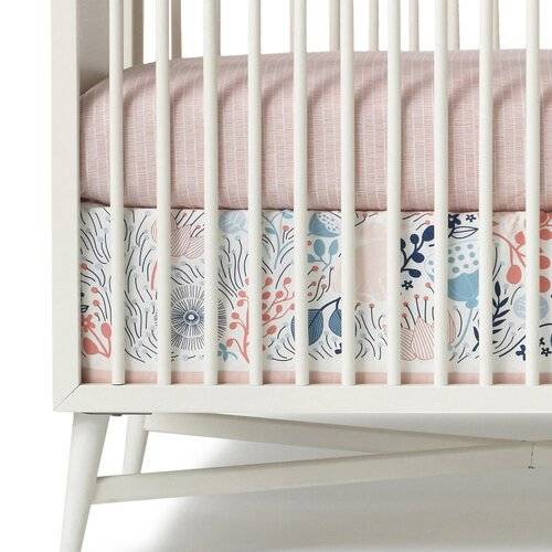 DwellStudio Meadow Canvas Crib Skirt