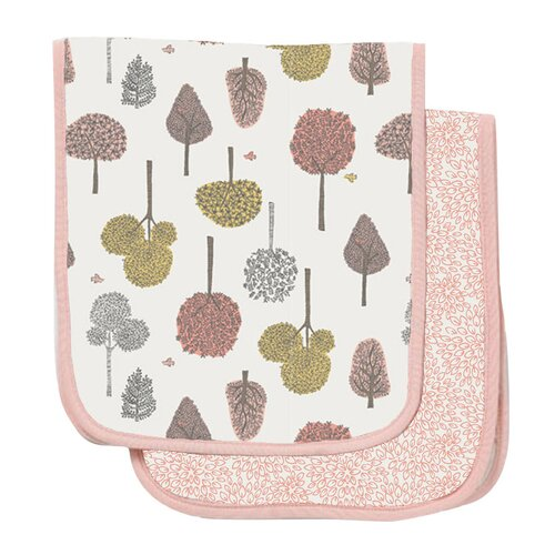 DwellStudio Treetops Burp Cloth (Set of 2)