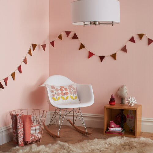 DwellStudio Pink Multi Bunting Flags