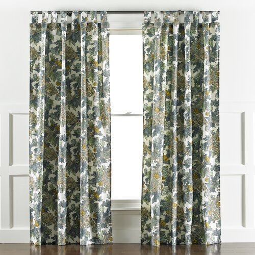 ming dragon curtain panel in midnight wayfair