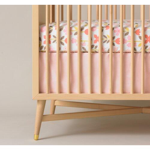 Solid Crib Skirt 8