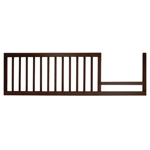 DwellStudio Mid-Century Toddler Bed Conversion Kit in Espresso