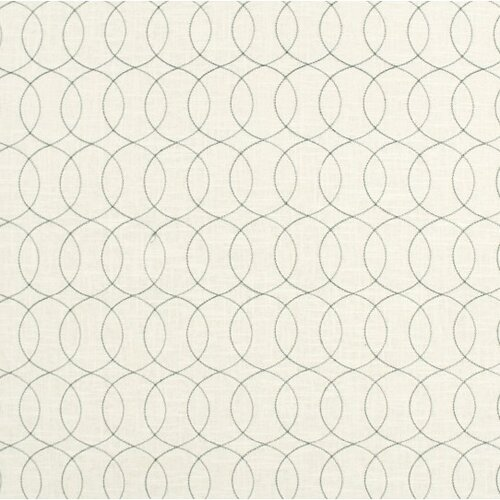 DwellStudio Gate Stitch Fabric - Espresso