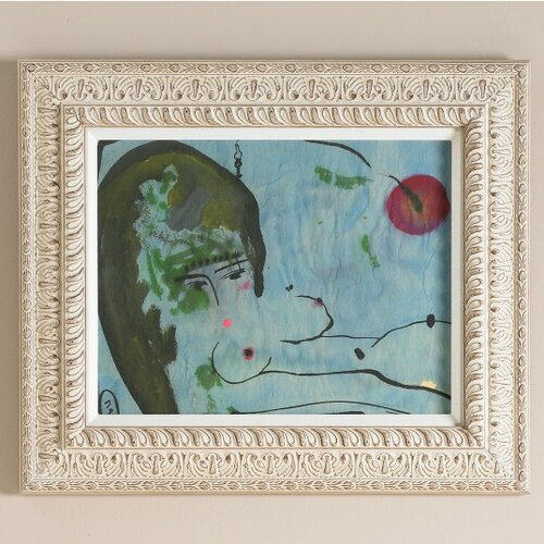 DwellStudio Vietnamese Gouache Artwork