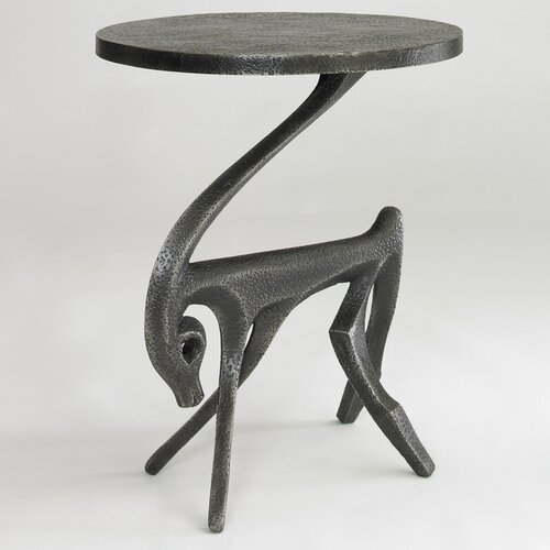 DwellStudio Gazelle Side Table in Black Iron