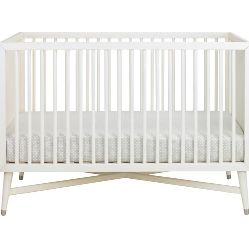 DwellStudio Mid-Century Crib in French White