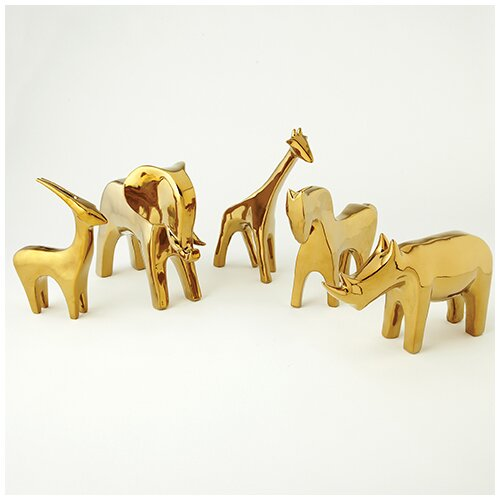 DwellStudio Antelope Objet in Gold