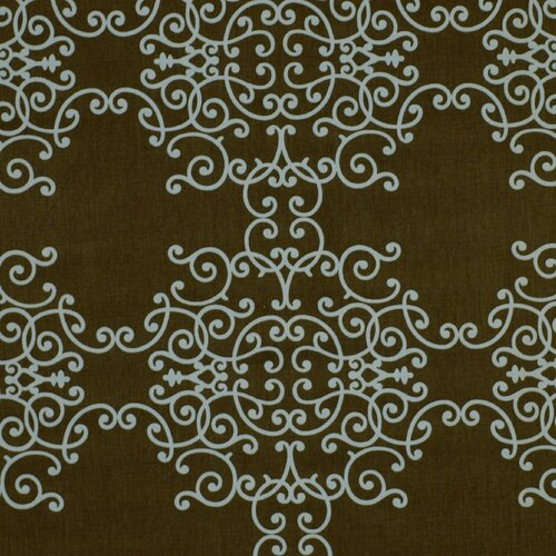 DwellStudio Soft Scrolls Fabric - Espresso