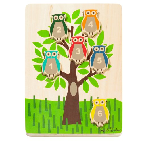 DwellStudio Owls Wooden Puzzle - SOLD OUT