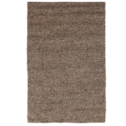 DwellStudio Braided Wool Espresso Rug