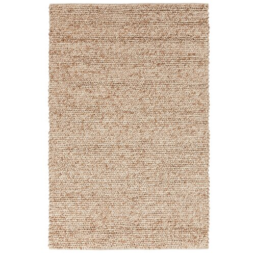 DwellStudio Braided Wool Dark Beige Rug