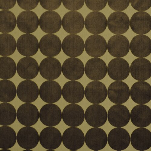 DwellStudio Plush Dotscape Fabric - Major Brown