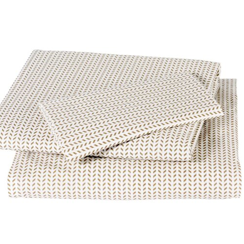DwellStudio Chevron Chocolate Sheet Set