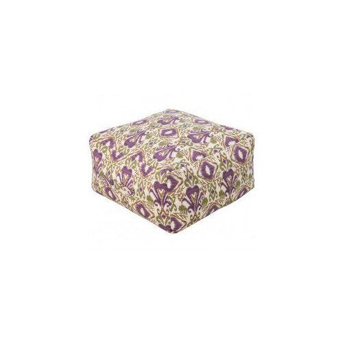 DwellStudio Ikat Grape Outdoor Pouf