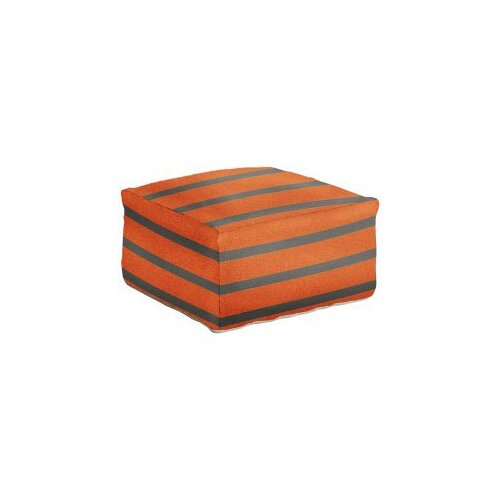DwellStudio Stripe Pumpkin Pouf