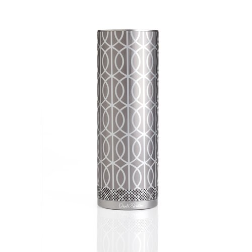 DwellStudio DwellStudio for Stellé Audio Bluetooth Speaker in Pewter and Silver