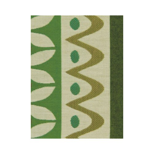 DwellStudio Nordic Stripe Fabric - Lime