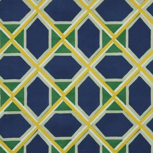 DwellStudio Coco Fabric - Ultramarine