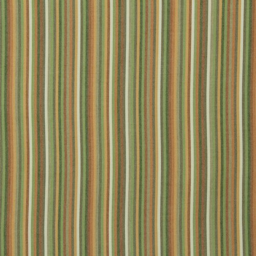 DwellStudio Striped Affair Fabric - Tangerine