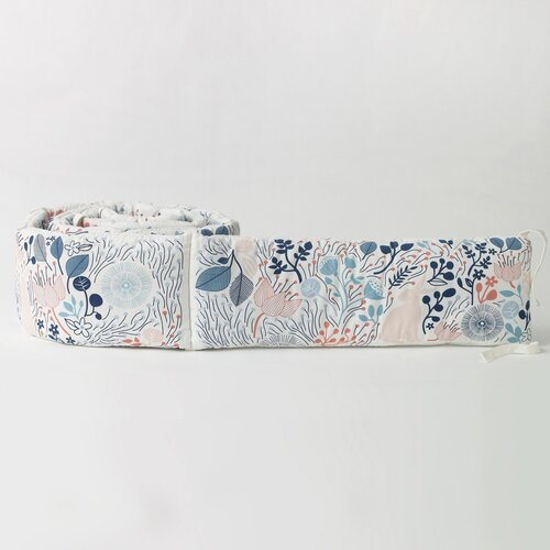 DwellStudio Meadow Powder Blue Bumper
