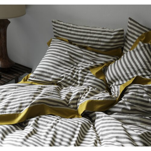 DwellStudio Draper Stripe Ash Sham (Set of 2)