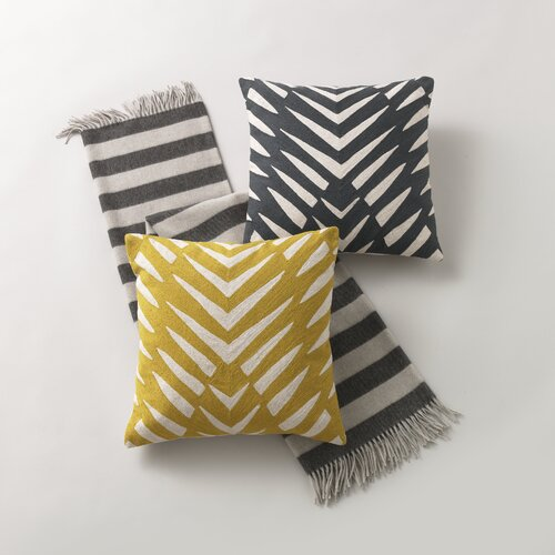 DwellStudio Osa Charcoal Pillow
