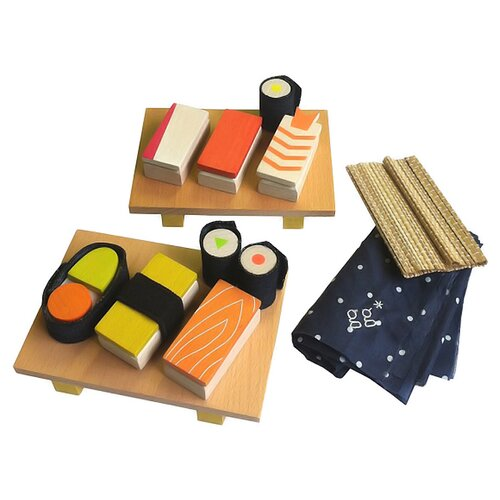 DwellStudio Wooden Sushi Set