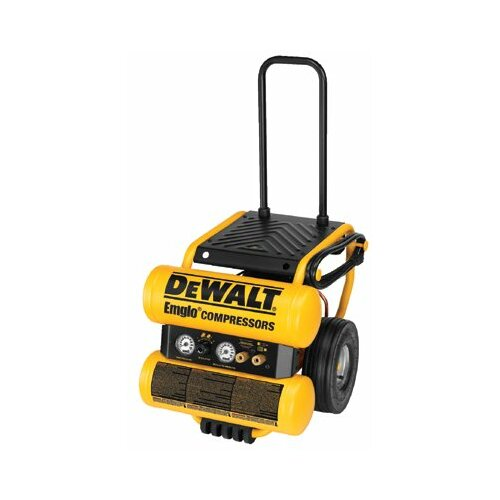 DeWalt Hand Carry-Electric Compressors - Heavy Duty 1.1HP Electric Air Compressor W/Panel