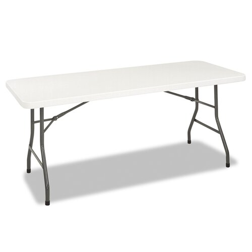 "Cosco Home and Office Folding Furniture 72"" Rectangular Folding Table"