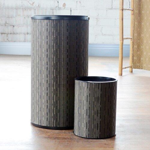 LaMont Caprina Hamper with Wastebasket Set
