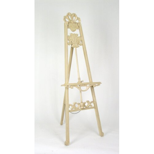 Wayborn Gallery Easel in Antique White