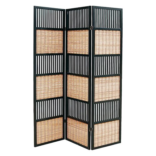 "Wayborn 70"" x 52"" Alternating 3 Panel Room Divider"