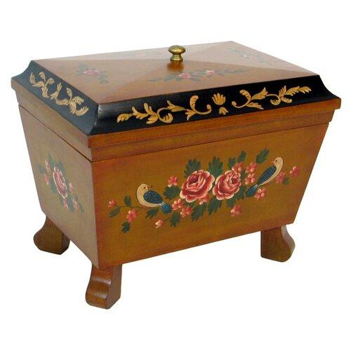 Wayborn Hand Painted Box with Moldings