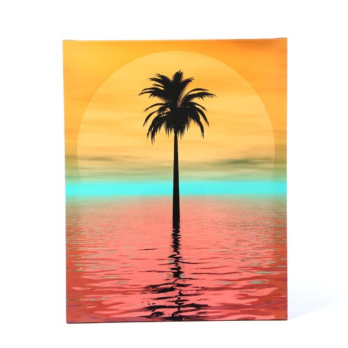 Menaul Fine Art Surreal Palm Limited Edition by Scott J. Menaul Framed Graphic Art