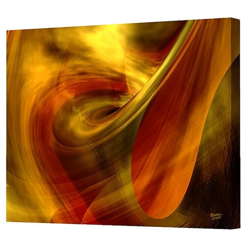 Menaul Fine Art Swirls Limited Edition by Scott J. Menaul Framed Graphic Art