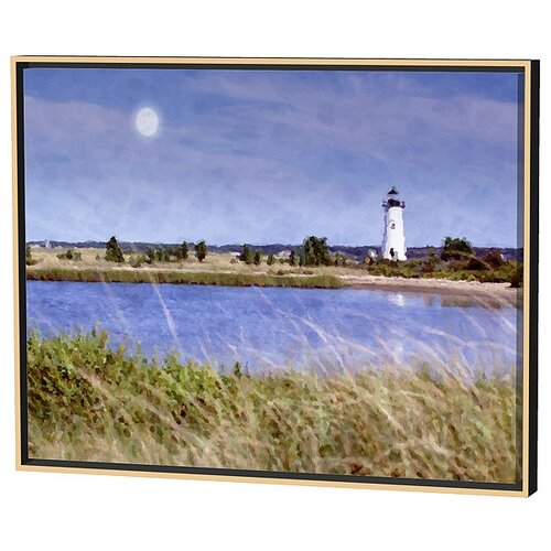Menaul Fine Art Edgartown Light Limited Edition by Scott J. Menaul Framed Painting Print