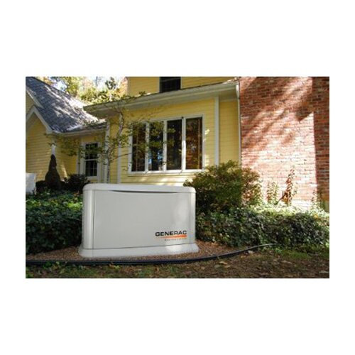 Generac Guardian 8 Kw Liquid-Cooled Single Phase 120/240 V Natural Gas Propane Standby Generator in Steel Enclosure