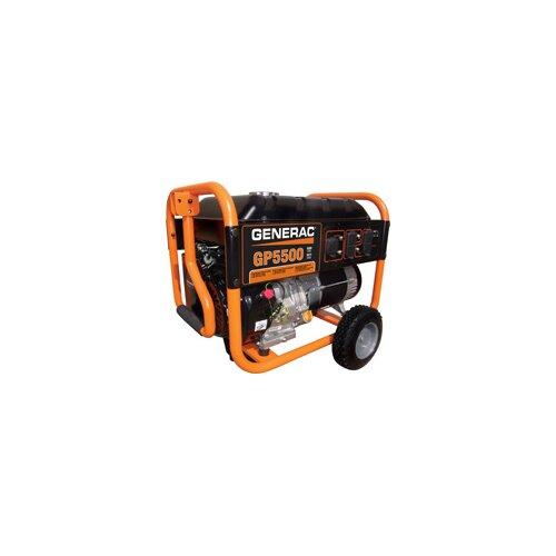 Generac Portable 5,500 Watt Generator