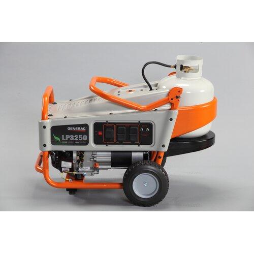 Generac Portable 3,250 Watt Liquid Propane Generator