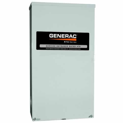 Generac Power Manager 200-Amp Load-Shedding Automatic Transfer Switch
