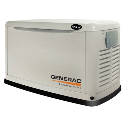 Guardian 11 Kw Liquid-Cooled Single Phase 120/240 V Natural Gas Propane Standby Generator in ...