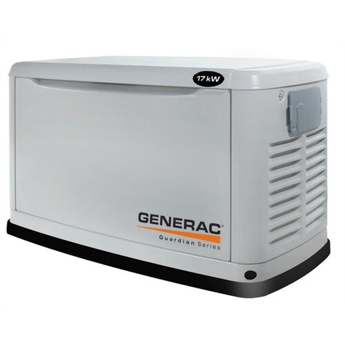 Guardian 17 Kw Liquid-Cooled Single Phase 120/240 V Natural Gas Propane Standby Generator in ...