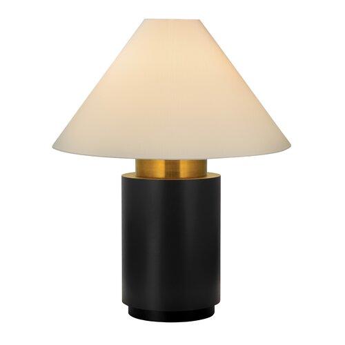 """Sonneman Tondo Alto 38"""" H Table Lamp with Empire Shade"""
