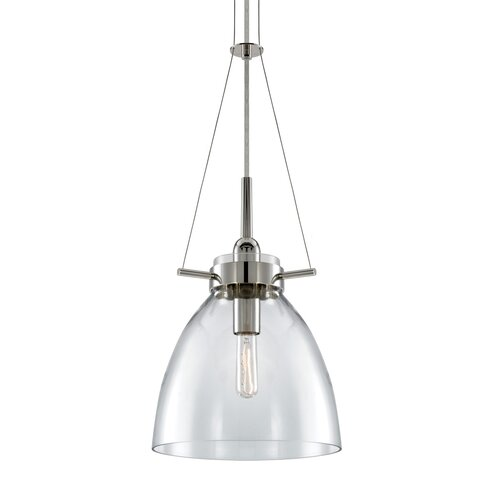 sonneman castelli 1 light foyer pendant reviews wayfair
