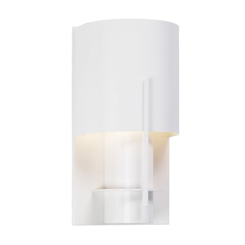 Sonneman Oberon 1 Light Wall Sconce with Steel Shade
