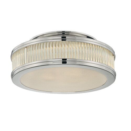 "Sonneman Rivoli 12"" 2 Light Semi Flush Mount"