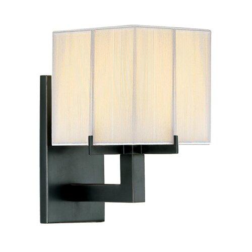 Sonneman Boxus Short 1 Light Wall Sconce
