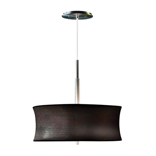 Sonneman Lightweights 2 Light Round Drum Pendant